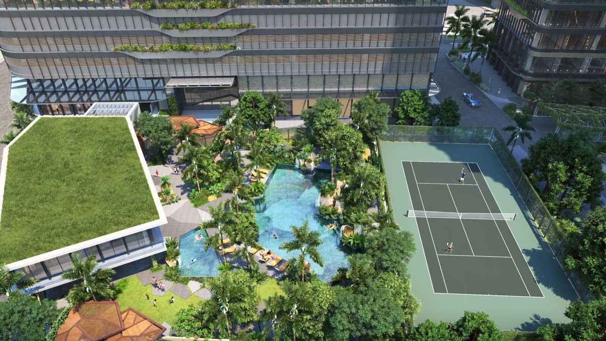 Tiện ích dự án Grand Marina