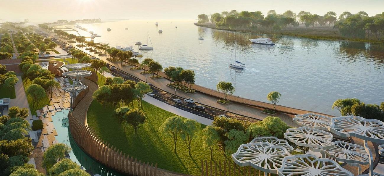 Bến du thuyền đẳng cấp tạidự án Grand Marina