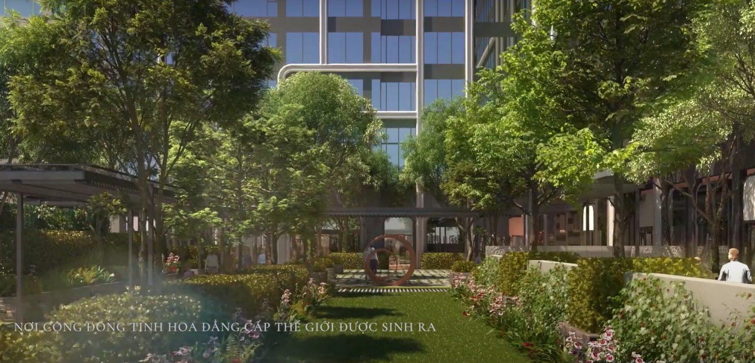 Công viên nội khu dự án Grand Marina Saigon